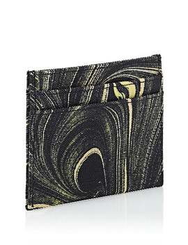 Print Canvas Card Case by Dries Van Noten
