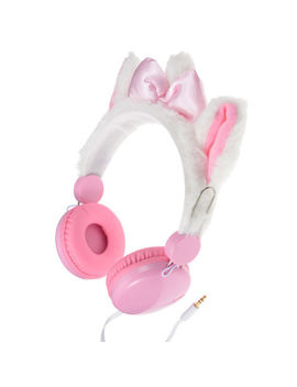 Disney Store Japan Aristocat Marie Ear Ribbon Stereo Headphone Pink &White by Disney