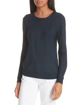 Crewneck Silk Top by Theory
