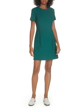 Stretch Wool A Line Dress by Theory