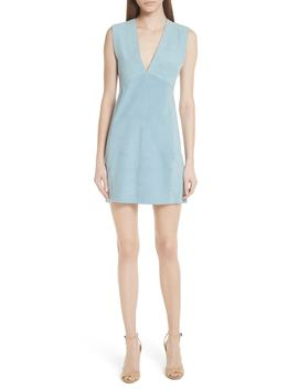 Zinovin S. Double Face Suede Dress by Theory