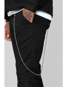 Beaded Belt Chain   Silver by Fashion Nova