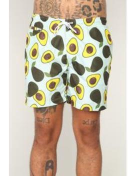 Bari Board Shorts   Blue/Combo by Fashion Nova