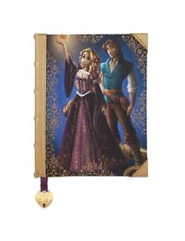 New Disney Store Tangled Rapunzel & Flynn  Journal Fairytale Designer Couples by Ebay Seller