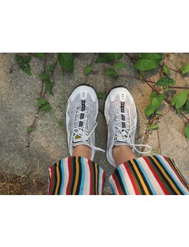 Vinage 90's Y2k Tn Nike Air Sneakers // Athletic Sporty Cyber Grunge Club Kid Raver // Size 9 by Etsy