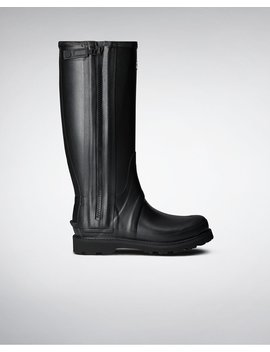"<Span Itemprop=""Name"">Men's Commando Full Zip Rain Boots</Span>:                     <Span>Black</Span> by Hunter"