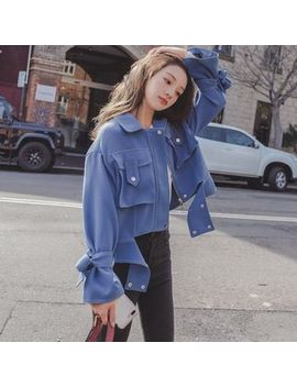Ariadne   Cropped Zip Jacket by Ariadne