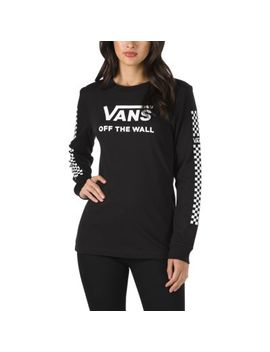 Funday Long Sleeve Boyfriend T Shirt by Vans