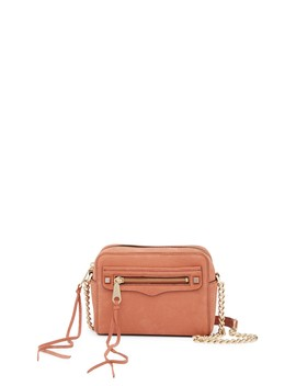 Regan Nubuck Leather Camera Bag by Rebecca Minkoff