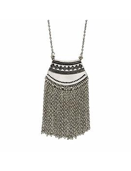 Long Mystic Fringe Pendant Necklace   Spunk Ysoul Collection… by Spunk Ysoul
