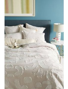 Woven Molena Duvet Cover by Anthropologie