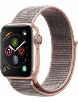 Apple Watch Series 4 (Gps), 40mm Gold Aluminum Case With Pink Sand Sport Loop   Gold Aluminum by Apple