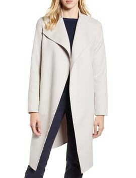 Leora Belted Long Wool Coat by Mackage