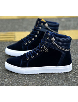 New Fashion Men's Casual High Top Sport Shoes Sneakers Athletic Running Shoes by Unbranded
