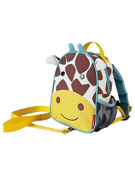 Skip Hop Toddler Leash And Harness Backpack, Zoo Collection, Giraffe by Skip Hop