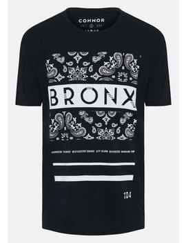 Black Lennon Crew Tee by Connor