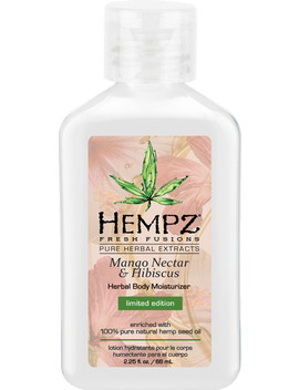 Travel Size Mango Nectar & Hibiscus Herbal Body Moisturizer by Hempz