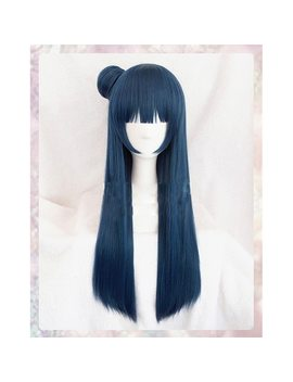 Love Live Sunshine Tsushima Yoshiko Wig Cosplay Costume Love Live Aqour Yohane Women Synthetic Hair Halloween Role Play Wigs by Ali Express