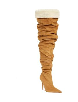 Igloo Slouchy Thigh High Boot by Jeffrey Campbell