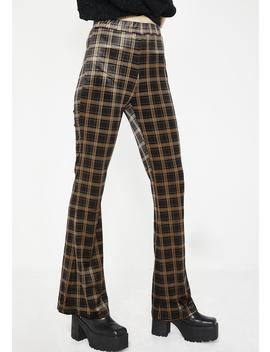 Werkin' For It Plaid Pants by Emory Park