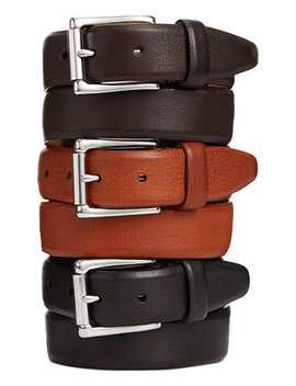 Burnished Edge Roller Buckle Belt by Cole Haan