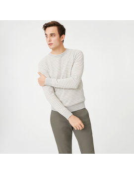 Striped Boucle Rollneck by Club Monaco
