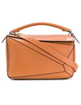 Loewe Puzzle Baghome Women Loewe Bags Tote Bagsboxy Zip Jacket Puzzle Bag by Loewe