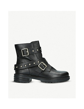 Stinger Studded Leather Boots by Kurt Geiger London