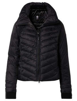 Hy Bridge Base Hooded Quilted Shell Down Jacket by Canada Goose