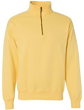 Hanes Men's Nano Quarter Zip Fleece Jacket by Hanes