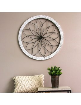 Stratton Home Decor Round Floral Wall Decor by Kohl's