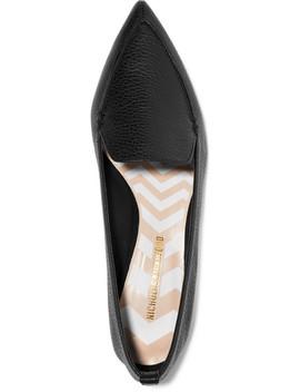 Chaussures Plates à Bouts Pointus En Cuir Texturé Beya by Nicholas Kirkwood