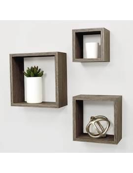 Kiera Grace Cubbi Nesting Wall Shelf 3 Piece Set by Kohl's