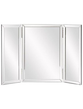 Clay Alder Home Steel Trifold Vanity Mirror by Clay Alder Home