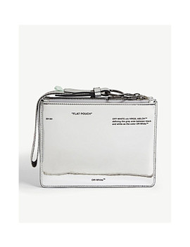 Mirror Flat Pouch by Off White C/O Virgil Abloh