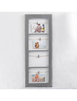 Belle Maison Rustic 4 Opening Photo Clip Fashion Collage Frame by Kohl's