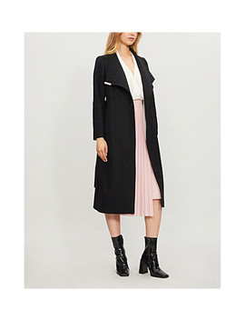 Sandral Wool Blend Wrap Coat by Ted Baker