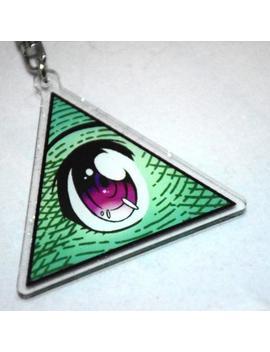 Kawaiilluminati Keychain by Etsy