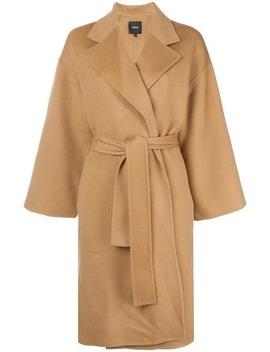 Theorybelted Oversized Coat Home Women Theory Clothing Oversized Coats by Theory