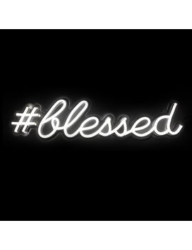 Oliver Gal Blessed Led Wall Light by Oliver Gal