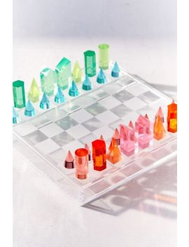 Acrylic Chess by Urban Outfitters