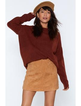 What Knit Takes Longline Sweater by Nasty Gal