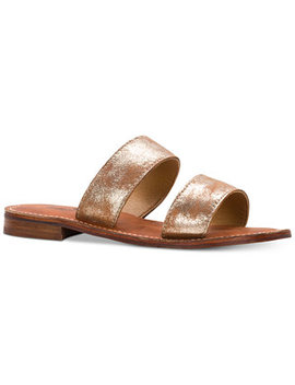 Flair Flat Sandals by Patricia Nash
