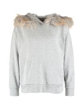 Grey Pullover Hoodie by Gap