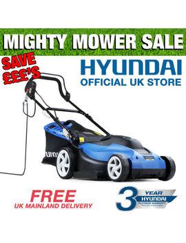 """Hyundai Electric Lawnmower 1600w 38cm 15"""" Cutting Width Hym3800 E Lawn Mower by Ebay Seller"""