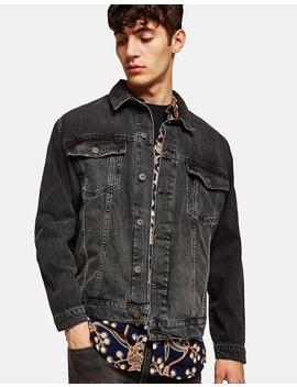 Oversized Denim Jacket by Topman