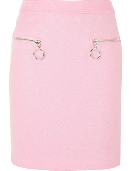 Wool Blend Skirt by Moschino