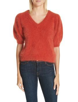 Aries Puff Sleeve Sweater by Ulla Johnson