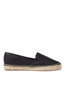 Destini Leather Espadrille by Ralph Lauren
