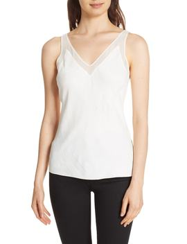 Elten Mesh Trim Camisole by Ted Baker London